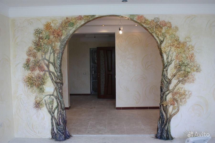 Декорировать арку своими руками