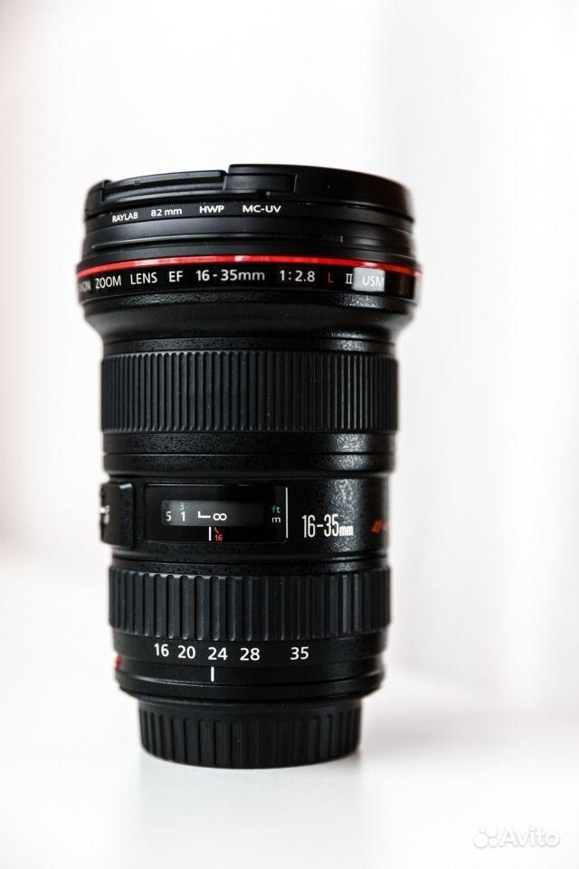 Canon EF 16-35mm f 2.8L II USM.  Москва