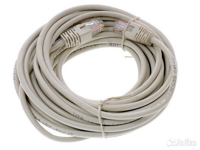 Патч-корд UTP кат. . 5/5e служит для соединения между собой компьютера и р