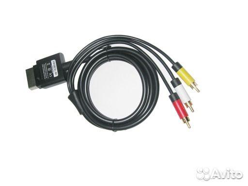 Оригинальный композитный AV кабель для Xbox 360 Sl 89176030925 купить 1