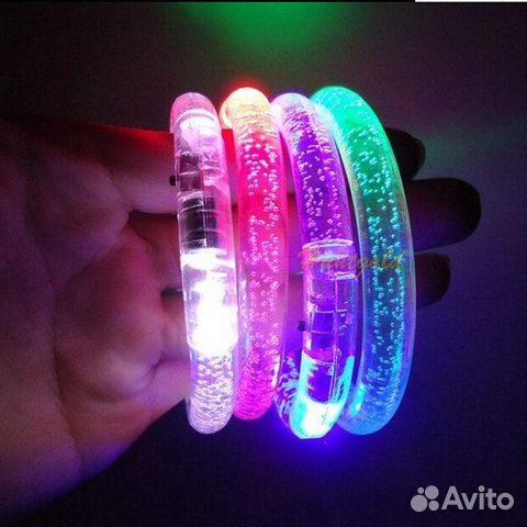 Браслеты светящиеся для дискотеки и вечеринки купить в Москве на Avito - Объявления на сайте Avito