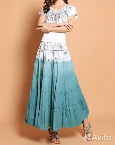 Как сшить юбку на лето