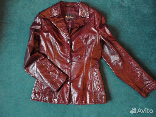 Куртка (пиджак) кожаная 89536648225 купить 1
