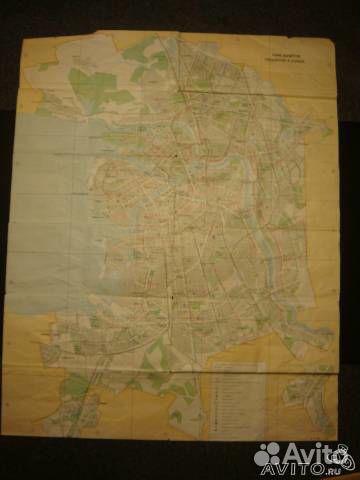 Карта/схема маршрутов