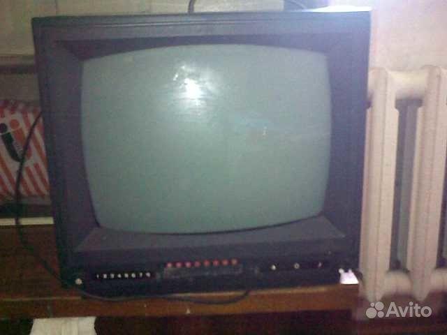 Черно-белый телевизор Фотон