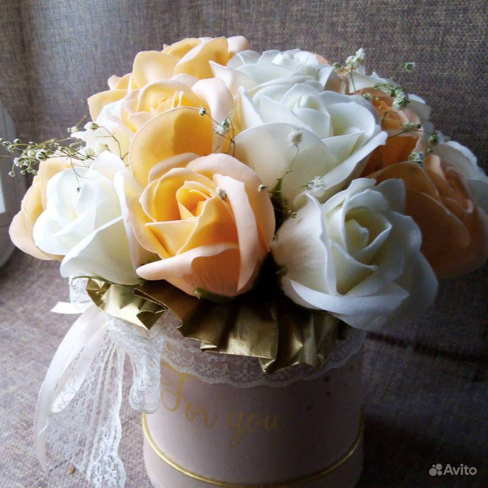 Мыльные цветы купить на Зозу.ру - фотография № 2