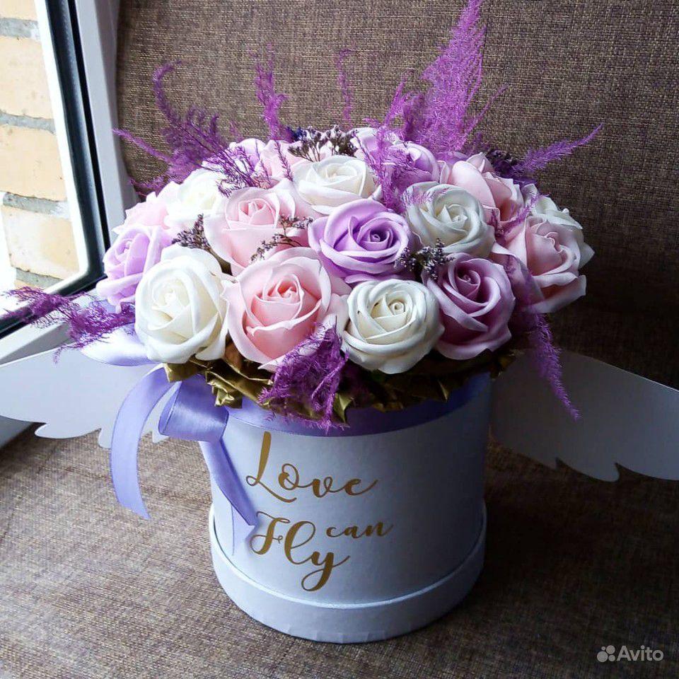 Мыльные цветы купить на Зозу.ру - фотография № 8