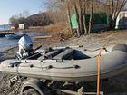 Лодка Кайман 330 и мотор Хонда 10л.с 2013г