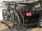 Крепления для велосипеда на фаркоп titan plus 2
