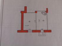Помещение свободного назначения, 35 м²