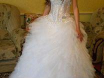 0cf8963c7cf Свадебное платье в отличном состоянии