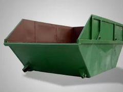 Вывоз мусора и глины от 1 м3, установка бункера