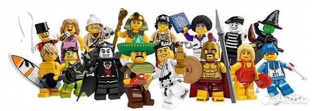 lego лего 8684 минифигурки 2 серия купить в Москве на avito GD110