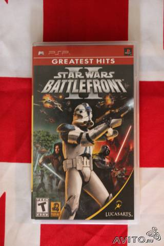 Star Wars Battlefront II для Sony PSP (лицензия)