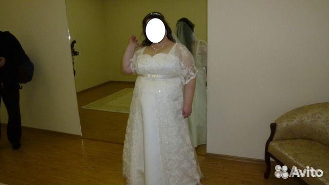 Свадебное платье 64 размер