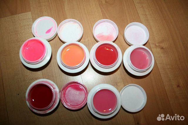 Купить цветной биогель для ногтей