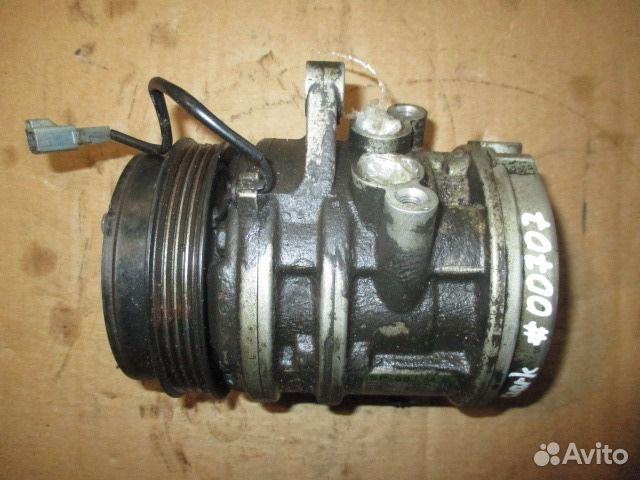 компрессор кондиционера chevrolet spark