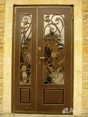 кованые железные двери цена