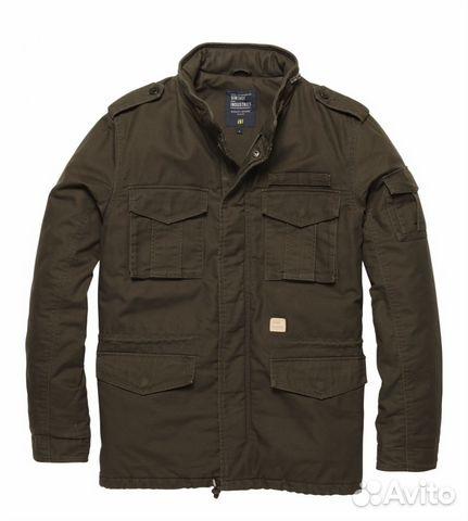 84644e39c5f Куртка vintage industries m65 padded jacket oak— фотография №1. Размер  без  размера. Адрес  Санкт-Петербург