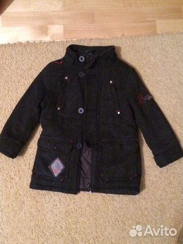 f68ccbcd83e Продам фирменное демисезонное пальто на мальчика купить в Москве на ...