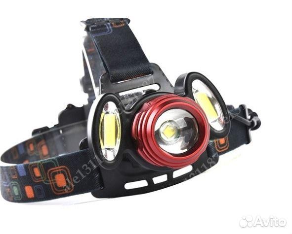 налобный фонарь для рыбалки с линзой