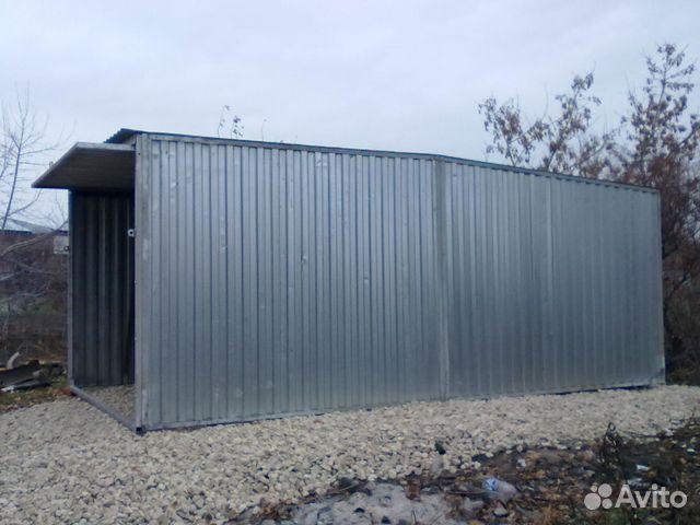 Продажа металлического гаража на авито утепление железных дверей в гараже