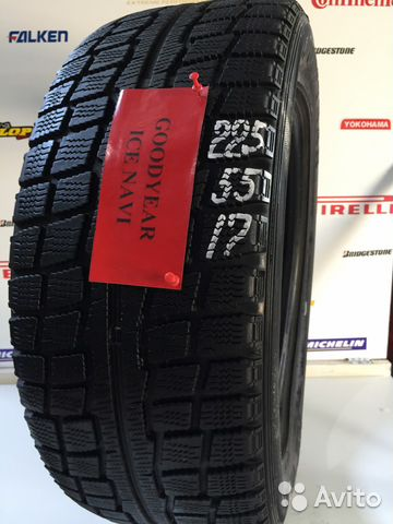 Шины бу R17 225 55 goodyear ICE navi— фотография №1