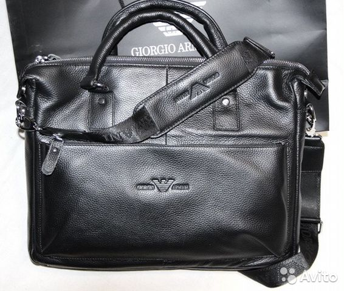 Мужская кожаная стильная сумка G. Armani новая A4   Festima.Ru ... 621d8cd3871