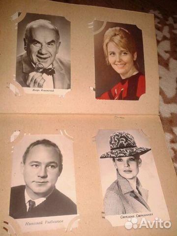 Продаю открытки с актерами