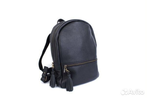 b11ca0119175 Кожаный рюкзак на молнии, ручная работа купить в Санкт-Петербурге на ...