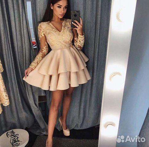 26cf43d2e50 Шикарное вечернее праздничное платье новое