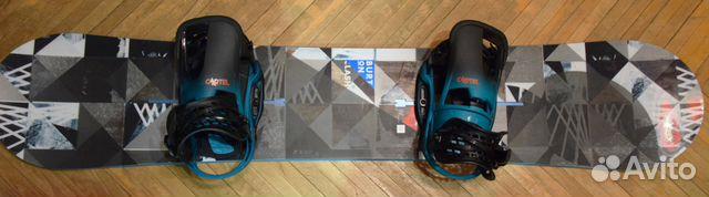 13e94f551d69 Сноуборд Burton Clash + крепление Burton Cartel EST + чехол ...