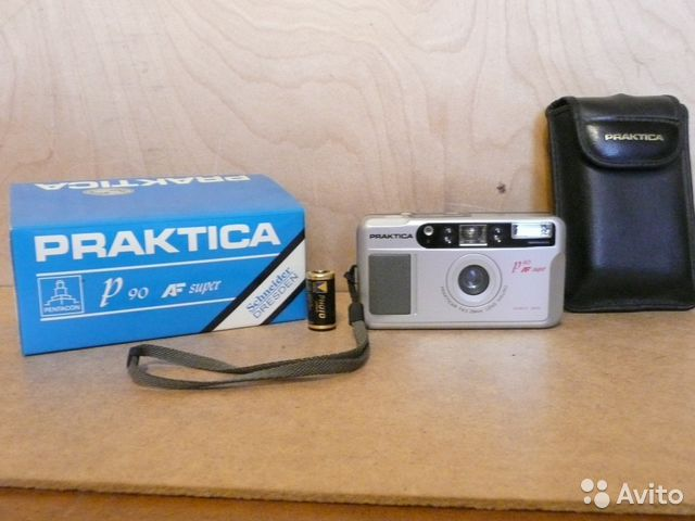 Praktica p af mm film camera praktica p af super used but