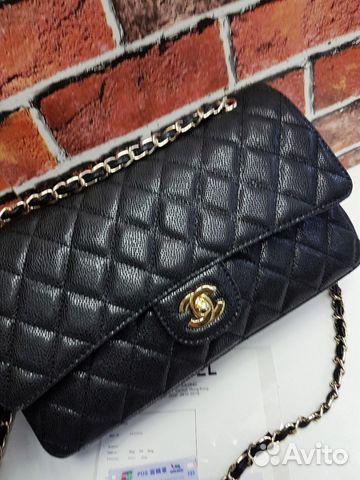 198d7f99be40 Сумки Chanel 2.55 Caviar Flap Клатч Шанель Кожа | Festima.Ru ...
