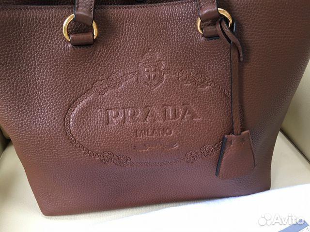 Сумка Prada новая обмен купить в Москве на Avito — Объявления на ... 05ec5c5cffc