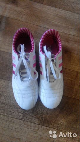 4461459e6609 Фирменные кроссовки Adidas, кожа купить в Красноярском крае на Avito ...