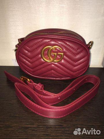 91ae6b76b336 Сумка Gucci Marmont. Новая