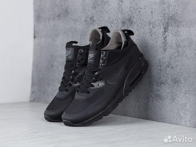 Кроссовки Nike Air Max 90 Mid Winter Black купить в Воронежской ... 29b02a94e3c