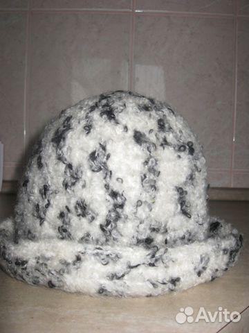 Шляпка буклированная