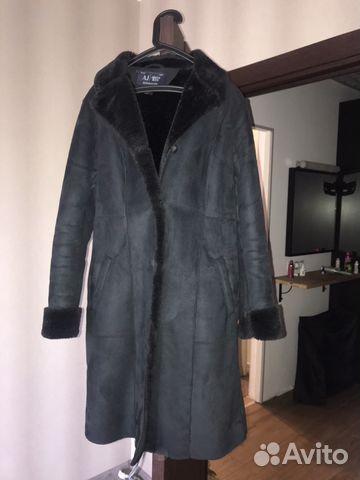 Дубленка Armani jeans р.44-46 купить в Ленинградской области на ... ee7c32a5740
