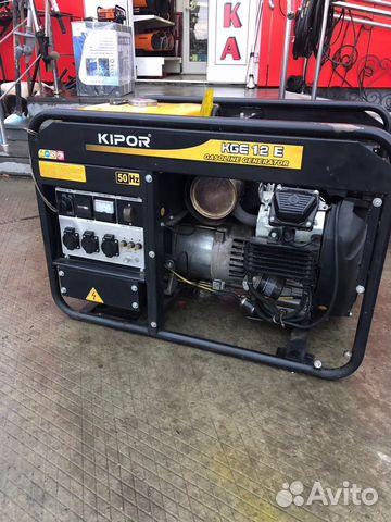 Бензиновый генератор kipor kge 12 e генератор бензиновый sturm pg87631e