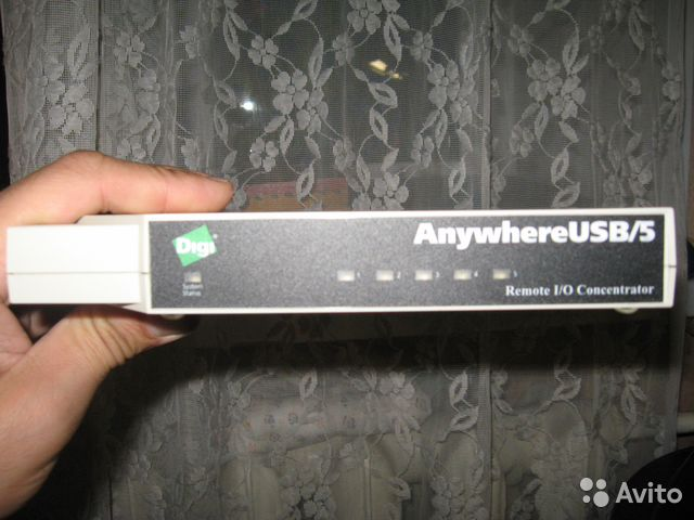 Anywhereusb/5 Сетевой USB концентратор | Festima Ru