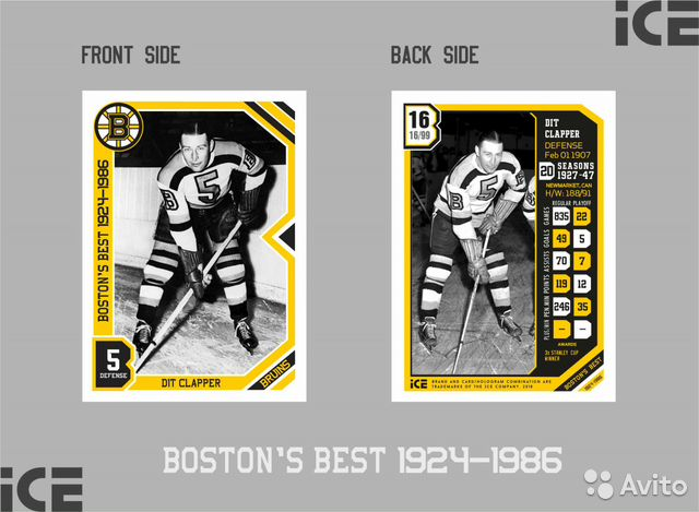 Коллекционные карточки - Boston's best 1924-1986
