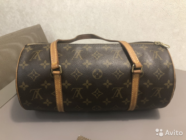 Сумка кожаная Louis Vuitton Papillon купить в Москве на Avito ... 4f8d9fb8fcb