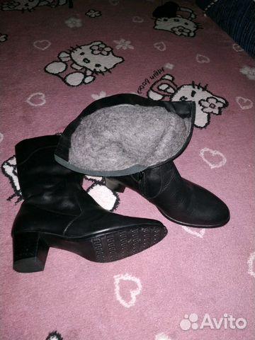 Сапоги новые зимние кожаные 89887087878 купить 5