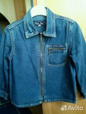 Пиджак-рубашка джинс купить 1