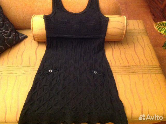 da91c95b72a Маленькое чёрное платье марки chanel новое купить в Москве на Avito ...