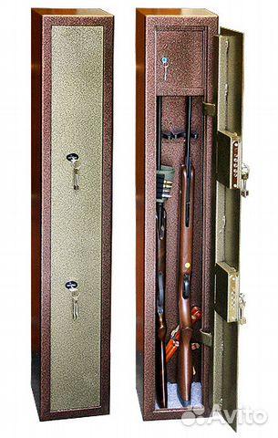 Сейф для охотничьих ружей на 2 ствола 89186710000 купить 3