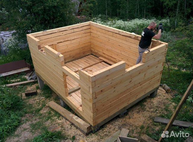 Дачные дома беседки веранды бани садовая мебель 89054130303 купить 3