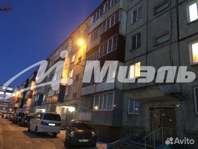 Продается двухкомнатная квартира за 5 700 000 рублей. Южно-Сахалинск, Сахалинская область, проспект Мира, 245Б.